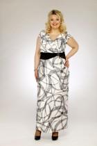 платье сакура белый салют р-ры: 62